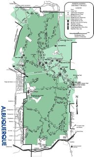 Sandia Trail Map copy