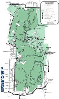 Sandia Trail Map copy
