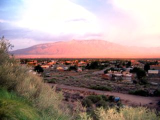 Sandia at sunset
